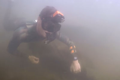 You Won't Believe What This Scuba Diver Found In River