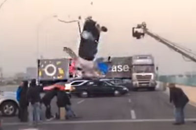 When Shoting A Stunt In Movie Almost Ends In A Disaster