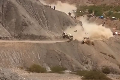 Are Those Two Fans At Dakar 2017 Luckiest Men Alive?
