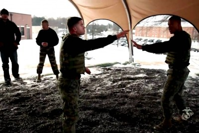 UFC Fighters Experience Marine Corps Martial Arts