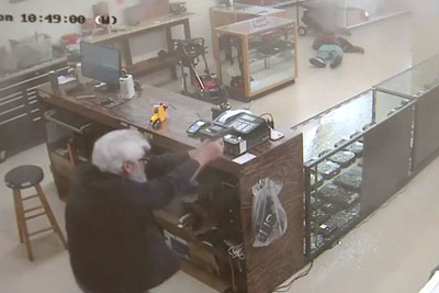 Idiot Tries To Rob Gun Store In Georgia But Receives Instant Justice