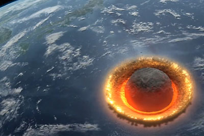 This Is How World Would End If A Large Asteroid Would Hit The Earth