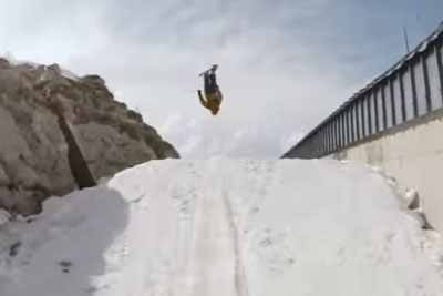 This Crazy Skier Will Blow You Away With His Double Backflip