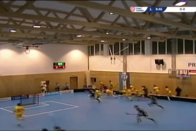 Roof Collapses During Floorball Game In Czech Republic