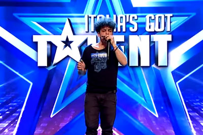 Moses Concas Blows Awesome Harmonica Beatbox Music On Italy's Got Talent And Wins The Show