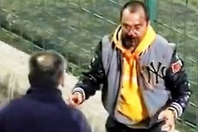 One Fan Hits Another During Soccer Game, Then He Gets What He Was Asking For