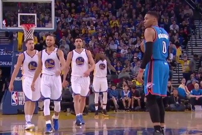 Russell Westbrook Completely Forgets To Dribble In Most Hilarious Traveling Violation