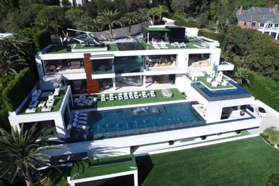The US Most Expensive Mansion Is For Sale In Bel Air, California For $250 Million