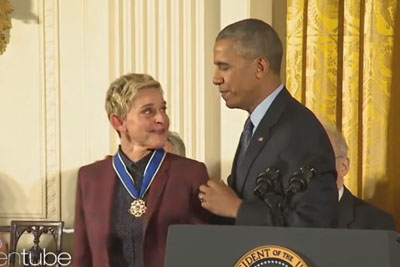 Ellen's Tribute To The Obamas Is Something Every American Should See