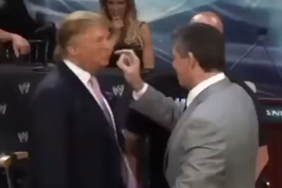 Donald Trump Hits A Provocator Right In The Face