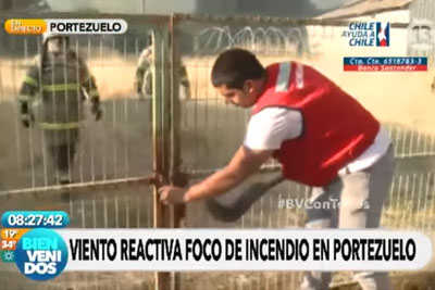 He Was Trying To Open Gate For Firefighters, Now Whole World Is Laughing At Him