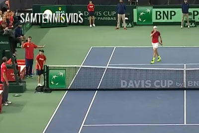 Tennis Player From Canada Gets His Team Disqualificated After Hiting Umpire