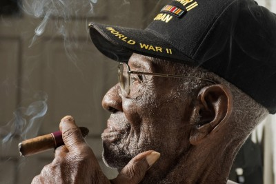 109-Year-Old Veteran Drinks Whiskey And Smokes Cigars Nearly Everyday, And He's Still Going Strong