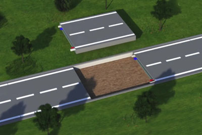 The Plastic Road Concept Might Be A Solution To Road Problems