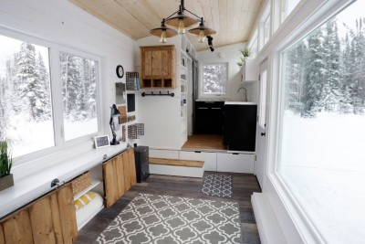 This Modern Tiny House With Elevator Bed Is Something Everyone Would Love