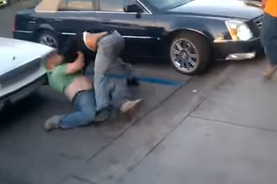 New York Punk Picks Fight With Arizona Trucker, Instantly Regrets It