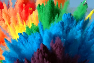 Airbag Rainbow Explosion Captured In 4K In Super Slow Motion
