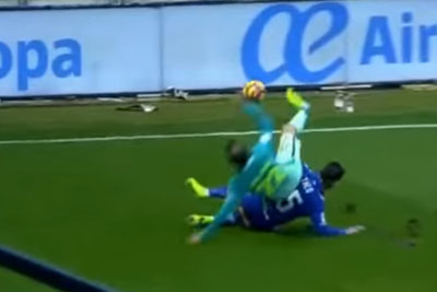 Aleix Vidal Horror Injury On The Match Against Alaves