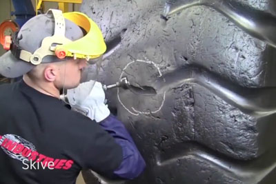 This Is How Giant Tire Repair Looks Like
