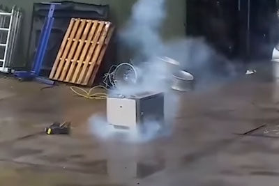 You Ever Wanted To Put A Fireworks Inside The Printer? Here Is The Video!