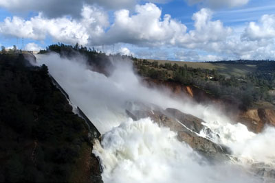 VIDEO: Tallest US Dam In California Is About To Collapse