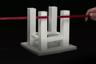 Japanese Professor Creates Amazing 3D Optical Illusions