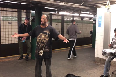 Watch Viral Subway Singer Mike Yung Perform Song We All Know In Best Way Possible