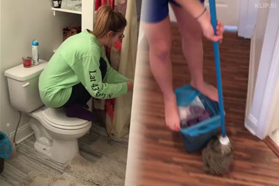 College Girls Exterminate Rat From The House With A Brilliant Plan