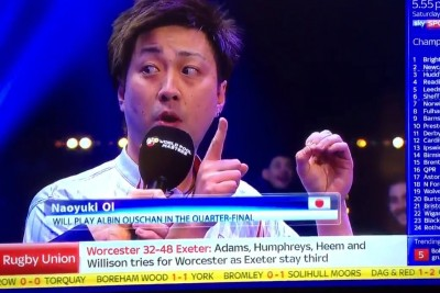 Japanese Pool Player Gives Most Hilarious Interview You Will Ever Hear