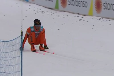 Is This Worst Cross Country Skier Ever? Today Everyone Is Laughing At Him!