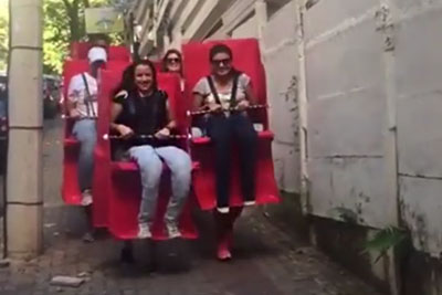 This Roller Coaster Fancy Dress Is Amazing