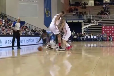 NBA Player Nate Robinson Goes Literally Through The Legs