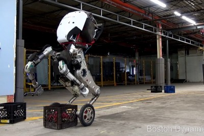 Boston Dynamics Introduces Us Their New Robot 'Handle' And It's Pretty Awesome