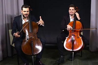 2Cellos Dish On The One Song They Can't Cover With Cellos And It's Hilarious