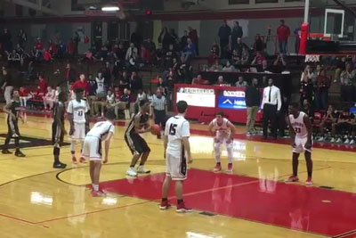 Indiana HS Basketball Team Hits Amazing Full Court Game Winner At The Buzzer
