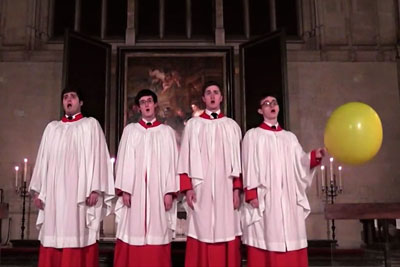 College Choir Uses Helium To Hit High Note And It's Awesome