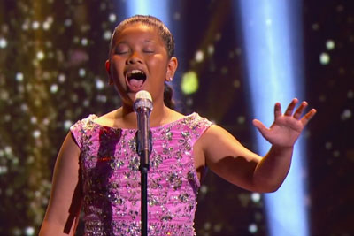 "12-Year-Old Elha Nympha Blows Everyone Away With ""Chandelier"" Cover"