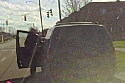 Officer Dragged By Car As Traffic Stop Turns Violent