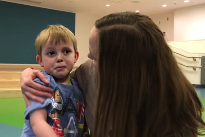The Moment This Boy Realizes He's Getting New Heart Will Warm Yours