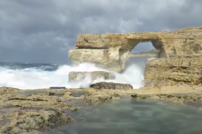 Footage Of Azure Window Just Moments Before Collapsing