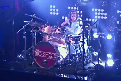 6-Year-Old Drummer Nails Her Performance With Crazy Skills On Little Big Shots