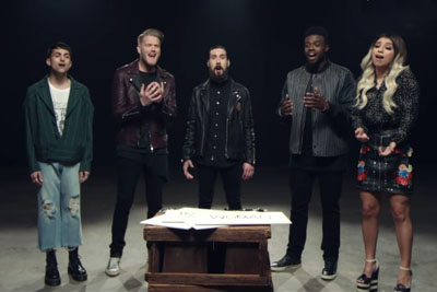 Pentatonix's Brand New Spin On John Lennon's Classic Is Putting Tears In Everyone's Eyes