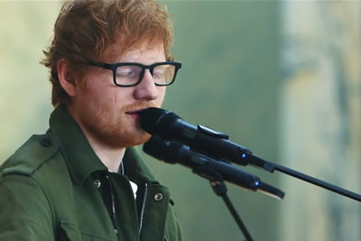 Ed Sheeran Sings Justin Bieber's 'Love Yourself,' A Song He Actually Helped Write