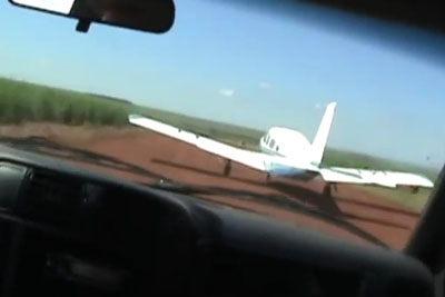 This Is How They Takedown A Drug Plane In Brazil