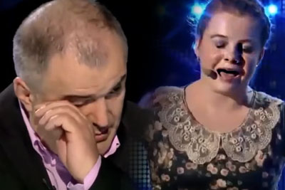 14-Year-Old Girl Brings The Judges To Tears With Her Touching Performance
