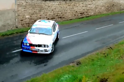 WATCH: This Must Be Most Attractive BMW Driving On A Rally Ever
