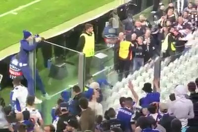 Porto Fan Climbs Into Juventus End For A Touching Moment