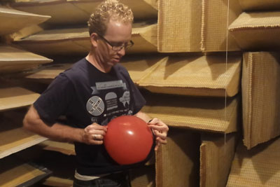 This Is How Popping A Balloon In An Anechoic Chamber Sounds Like