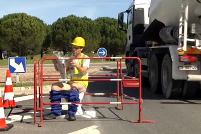 Watch How Remi Gaillard Pranks Random Drivers As A Road Worker