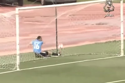 WATCH: Whole World Is Laughing At This Goalkeeper For His Unlucky Mistake